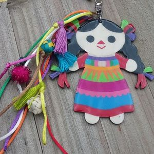 Accessories - Mexican hand painted keychain